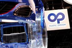 L'américain Flex-N-Gate a fait une offre ferme sur les sept sites européens de Faurecia que Plastic Omnium doit céder pour pouvoir racheter le reste de la filiale pare-chocs de l'équipementier automobile. /Photo d'archives/REUTERS/Benoit Tessier