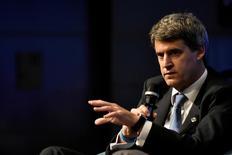 Ex-ministro da Economia da Argentina, Alfonso Prat-Gay, fala em painel de discussões anual do FMI e do Banco Mundial em Washington, Estados Unidos 06/10/2016 REUTERS/James Lawler Duggan/File Photo