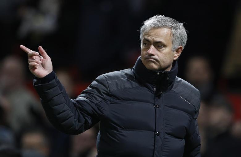 Britain Soccer Football - Manchester United v Sunderland - Premier League - Old Trafford - 26/12/16 Manchester United manager Jose Mourinho after the game  Reuters / Phil Noble Livepic