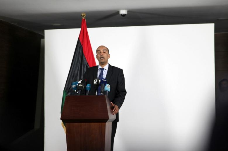 File photo: Libya's Deputy Prime Minister Musa Al-Koni visits the media center at the headquarters of the prime minister in Tripoli after a meeting of his Government of National Accord (GNA) held for the first time at the official government headquarters in the capital Tripoli July 11, 2016. REUTERS/Hani Amara