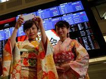 La Bourse de Tokyo a fini vendredi en baisse de 0,34%. /Photo prise le 4 janvier 2017/REUTERS/Kim Kyung-Hoon