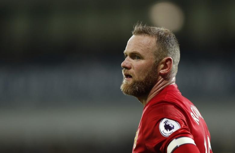 Britain Football Soccer - West Bromwich Albion v Manchester United - Premier League - The Hawthorns - 17/12/16 Manchester United's Wayne Rooney  Action Images via Reuters / John Sibley Livepic