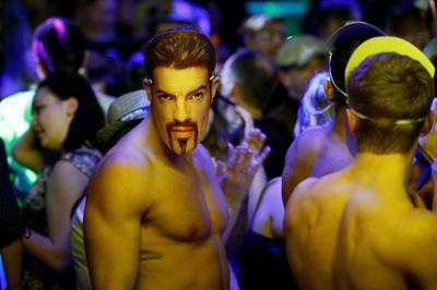 Nightclub tribute to George Michael