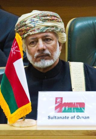 FILE PHOTO: Oman's Sultan Qaboos bin Said attends the International Conference on Global Fight against Terrorism in Tehran June 25, 2011. REUTERS/Raheb Homavandi/File Photo
