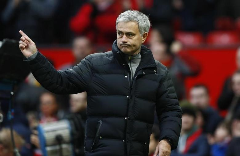 Britain Football Soccer - Manchester United v Reading - FA Cup Third Round - Old Trafford - 7/1/17 Manchester United manager Jose Mourinho after the match  Action Images via Reuters / Jason Cairnduff Livepic