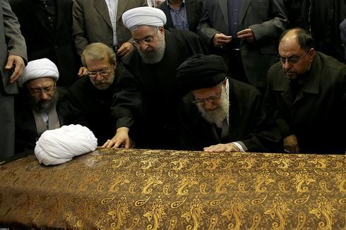 Iran mourns former president