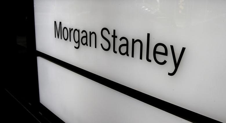 The logo of Morgan Stanley is seen at an office building in Zurich, Switzerland September 22, 2016.  REUTERS/Arnd Wiegmann/Files