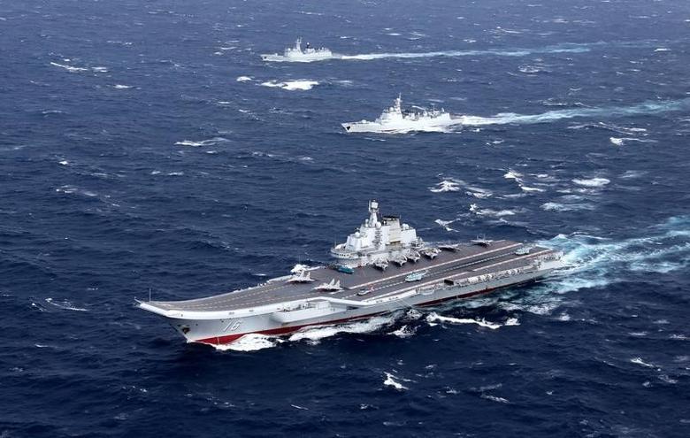 中国軍の空母「遼寧」、台湾海峡を通過=報道官 | jp.reuters.com
