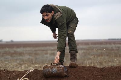 Demining Syria