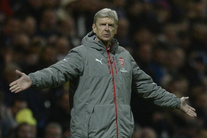 Britain Football Soccer - Preston North End v Arsenal - FA Cup Third Round - Deepdale - 7/1/17 Arsenal manager Arsene Wenger  Action Images via Reuters / Alan Walter Livepic