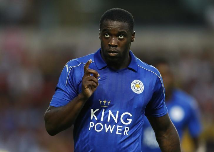 Britain Soccer Football - Oxford United v Leicester City - Pre Season Friendly - Kassam  - 19/7/16Jeffrey Schlupp celebrates after scoring the second goal for LeicesterAction Images via Reuters / Andrew CouldridgeLivepic/Files