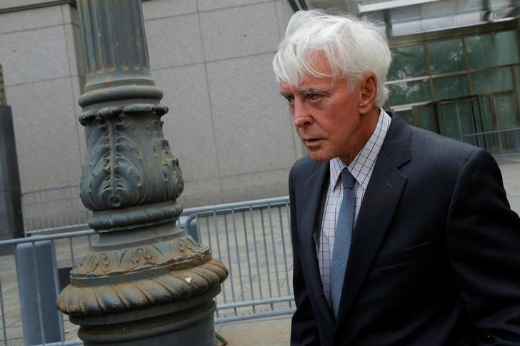 File photo: Professional sports gambler William ''Billy'' Walters departs Federal Court after a hearing in Manhattan, New York City, New York, U.S., July 29, 2016. REUTERS/Andrew Kelly
