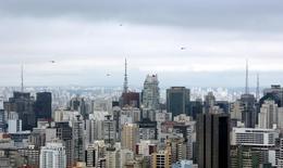 Prédios vistos no centro de São Paulo.      13/03/2016         REUTERS/Paulo Whitaker Whitaker