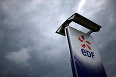 EDF a mis fin aux discussions exclusives engagées avec le fonds australien IFM sur la vente d'activités de cogénération en Pologne. /Photo d'archives/REUTERS/Stéphane Mahé