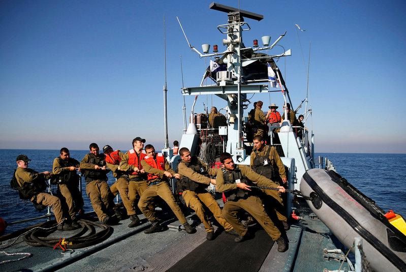 Israel bolsters navy to protect offshore oil and gas zone