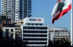 The HSBC headquarters is seen in Beirut, Lebanon November 24, 2016. REUTERS/Mohamed Azakir