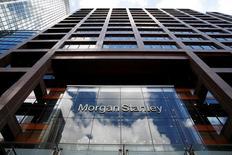 Les banques américaines Morgan Stanley et Citigroup ont identifié la majeure partie des postes qu'ils auront à transférer hors du Royaume-Uni une fois celui-ci sorti de l'Union européenne. Morgan Stanley devra déménager jusqu'à 1.000 postes, Citigroup une centaine. /Photo d'archives/REUTERS/Russell Boyce