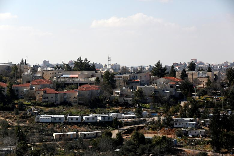 A general view shows the Israeli settlement of Bet El in the occupied West Bank January 30, 2017. Picture taken January 30, 2017. REUTERS/Ronen Zvulun