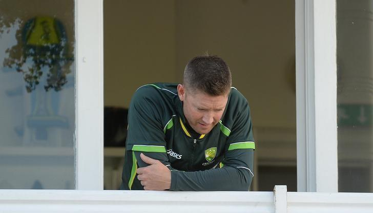 Cricket - England v Australia - Investec Ashes Test Series Fourth Test - Trent Bridge - 8/8/15Australia's Michael Clarke before playReuters / Philip BrownLivepic/Files
