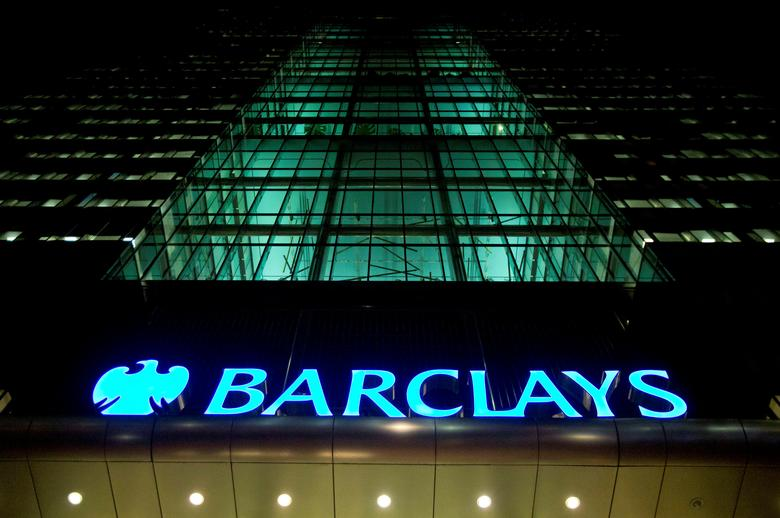 FILE PHOTO: The Barclays headquarters building is seen in the Canary Wharf business district of London, Britain February 6, 2013. REUTERS/Neil Hall/File Photo