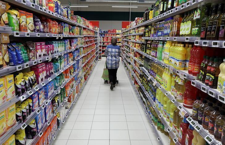 FILE PHOTO: A customer shops in a Casino supermarket in Nice, France, January 16, 2017. REUTERS/Eric Gaillard/File Photo