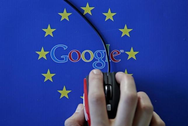 2月6日、英通信大手BTは、欧州連合(EU)欧州委員会が米グーグルの携帯端末向け基本ソフト「アンドロイド」について独占禁止法違反の疑いで調査している問題で、大手通信会社として初めてグーグル支持の姿勢を打ち出した。写真はサラエボで2015年4月撮影(2017年 ロイター/Dado Ruvic)