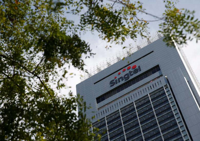 FILE PHOTO: A view of Singtel's head office in Singapore May 12, 2016. REUTERS/Edgar Su/File Photo