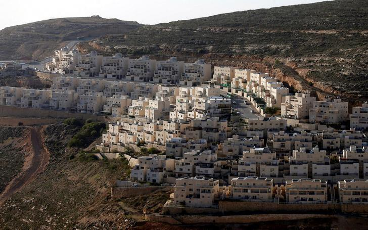 General view of houses of the Israeli settlement of Givat Ze'ev, in the occupied West Bank February 7, 2017. REUTERS/Ammar Awad