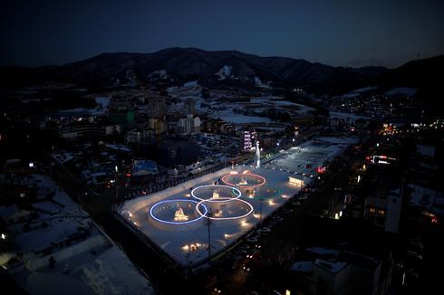 Countdown to PyeongChang Olympics