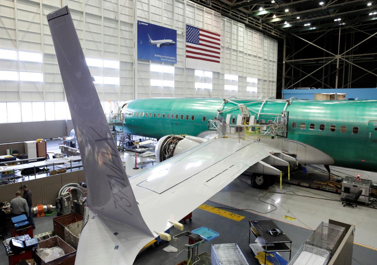 Resultado de imagen para Boeing assembly line 737 MAX