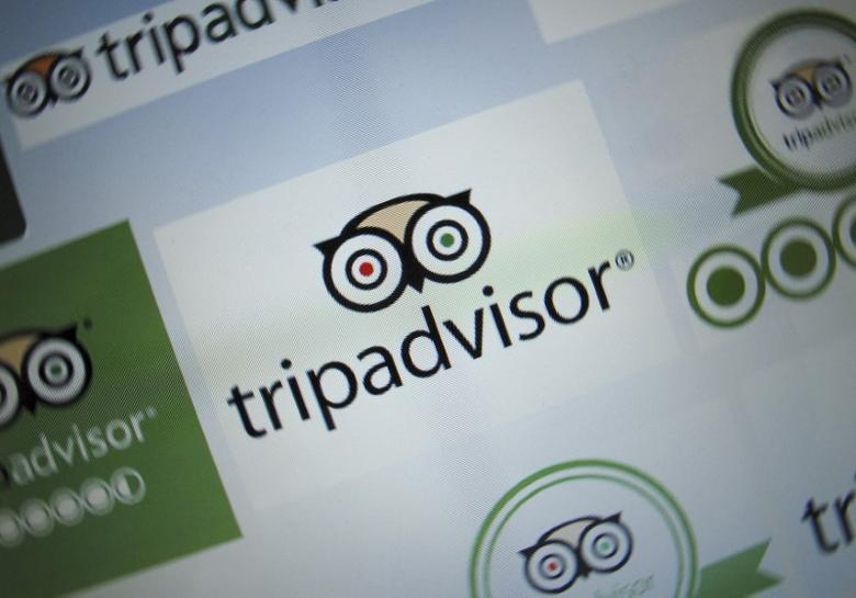 The logo for a travel website company TripAdvisor Inc is shown on a computer screen in this illustration photo in Encinitas, California May 3, 2016.      REUTERS/Mike Blake
