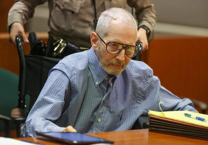 New York real estate scion Robert Durst appears in the Los Angeles Superior Court Airport Branch for a pre-trial motions hearing in Los Angeles, California, January 6, 2017. REUTERS/Mark Boster /Los Angeles Times/Pool