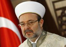 رئيس هيئة الشؤون الدينية في تركيا محمد جورمز - صورة من أرشيف رويترز.