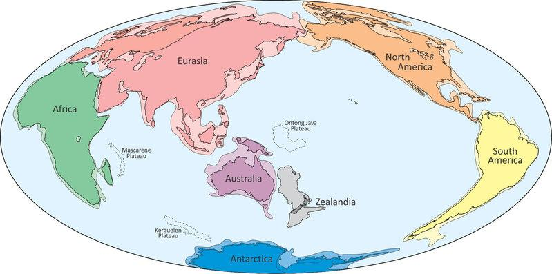 Scientists claim existence of drowned pacific ocean continent reuters an illustration provided to reuters february 18 2017 shows what geologists are calling zealandia c a continent two thirds the size of australia lurking gumiabroncs Gallery