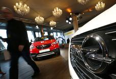 Opel presents their new Crossland X SUV in Frankfurt, Germany February 20, 2017.  REUTERS/Ralph Orlowski