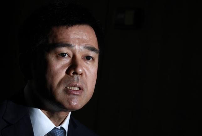 3月1日、日銀の佐藤健裕審議委員(写真)は、徳島市で講演し、日銀は国債の残高を圧縮するのが望ましいとの見解を示した。写真は都内で2012年9月撮影(2017年 ロイター/Yuriko Nakao)