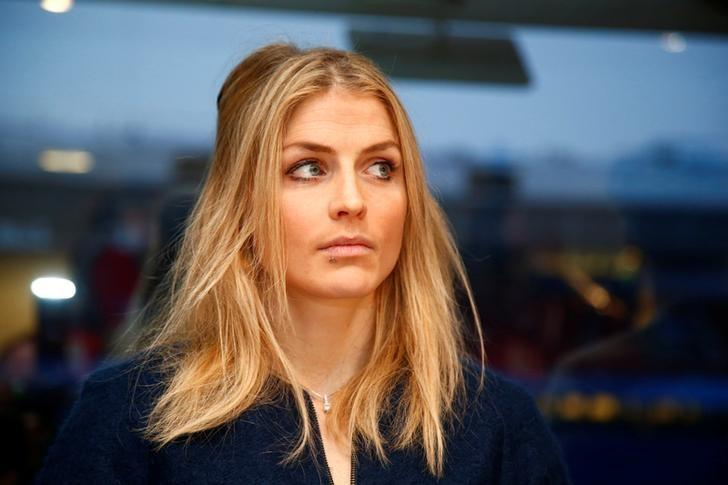 Norwegian cross country skier Therese Johaug before the start of a hearing in her doping case in Oslo, Norway, January 25 2017. NTB Scanpix/Heiko Junge/via REUTERS