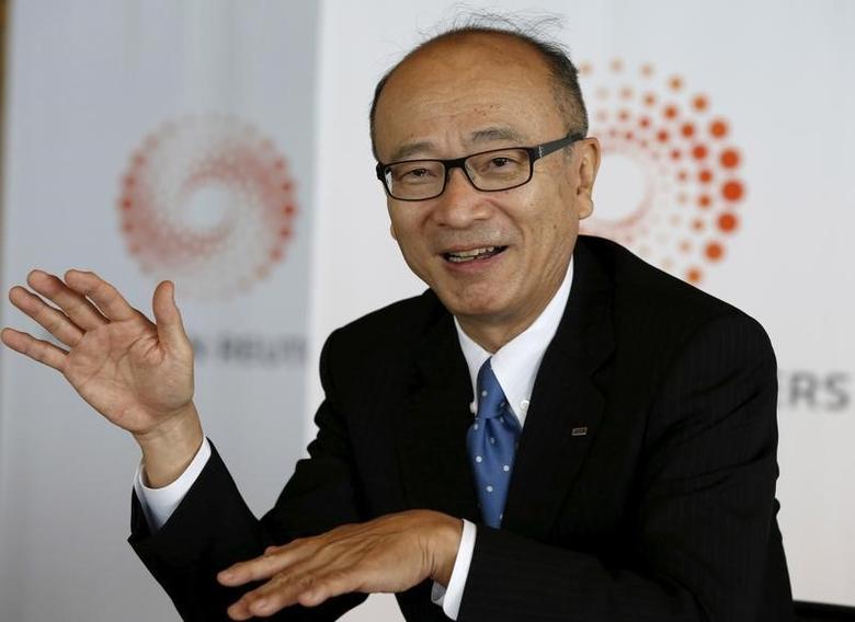 JERA Co President Yuji Kakimi speaks during the Reuters Commodities Summit in Tokyo, Japan October 21, 2015. REUTERS/Toru Hanai/File Photo
