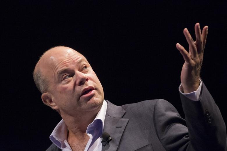 FILE PHOTO -- David Tepper, founder of Apploosa Management, speaks during the Sohn Investment Conference in New York May 4, 2015. REUTERS/Brendan McDermid/File Photo