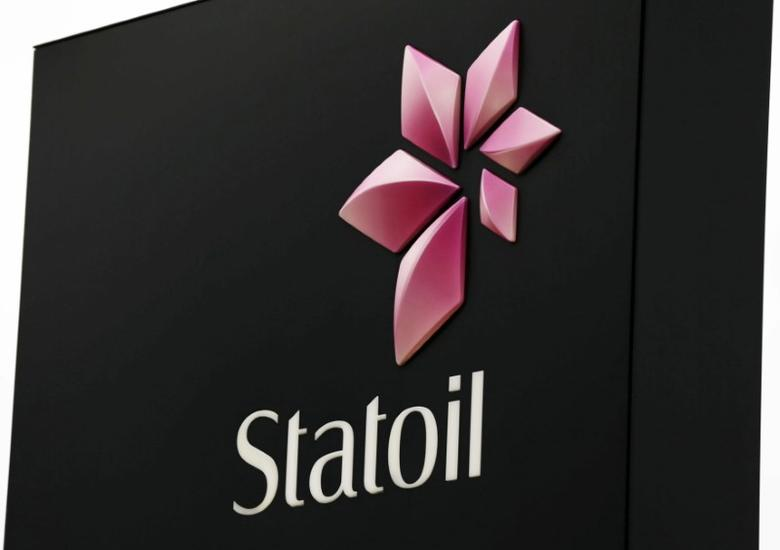 The company logo of Norwegian energy firm Statoil is seen at the headquarters outside Oslo, Norway, November 28, 2014. REUTERS/Berit Roald/NTB Scanpix