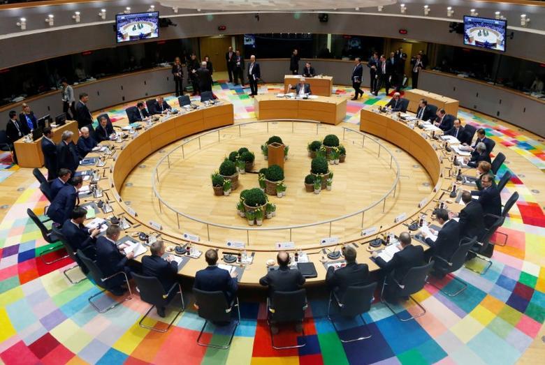 European Union leaders attend a summit in Brussels, Belgium March 10, 2017. REUTERS/Francois Lenoir