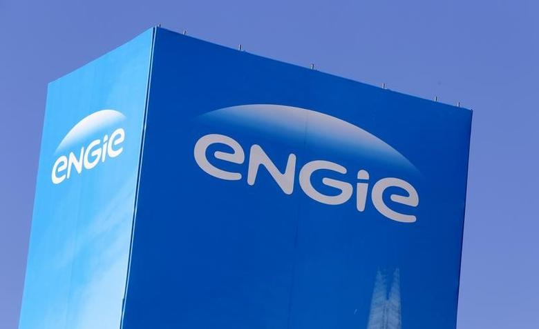The logo of French gas and power group Engie is seen at the CRIGEN, the Engie Group research and operational expertise center, in Saint-Denis near Paris, France,  Saint-Denis, France, February 29, 2016. REUTERS/Jacky Naegelen
