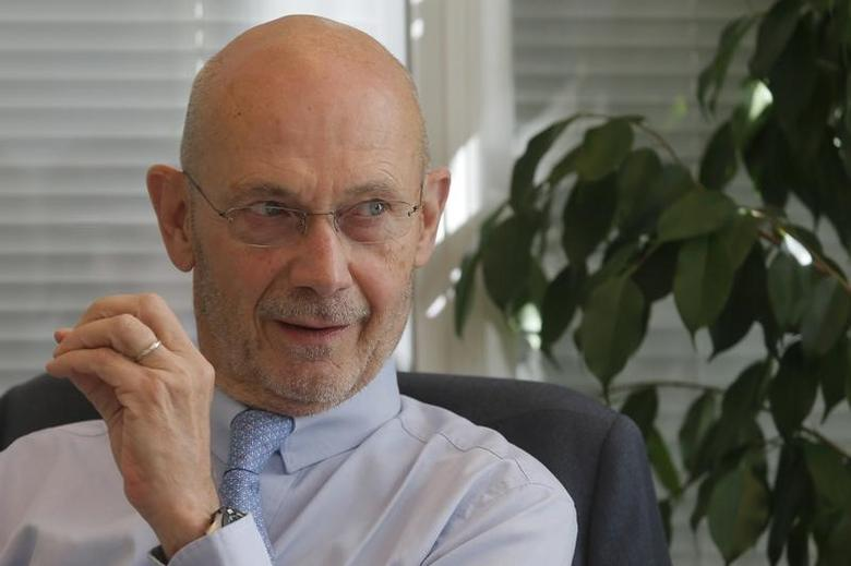 Pascal Lamy, former World Trade Organization Director-General, speaks during an interview at the Reuters Russia Investment summit in Moscow, Russia, September 30, 2015. REUTERS/Maxim Shemetov