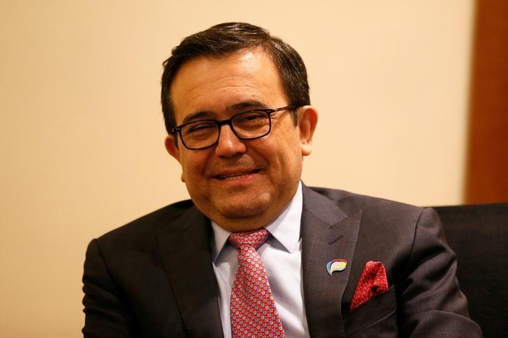 Mexico's Economy Minister Ildefonso Guajardo attends a meeting of the ''Alianza del Pacifico'' (Pacific Alliance) in Vina del Mar, Chile March 14, 2017. REUTERS/Rodrigo Garrido