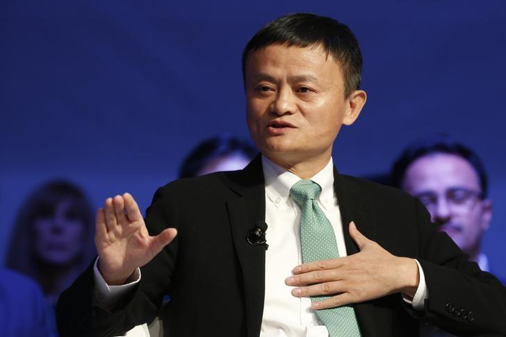 Alibaba executive chairman Jack Ma, attends the annual meeting of the World Economic Forum (WEF) in Davos, Switzerland, January 18, 2017. REUTERS/Ruben Sprich/Files