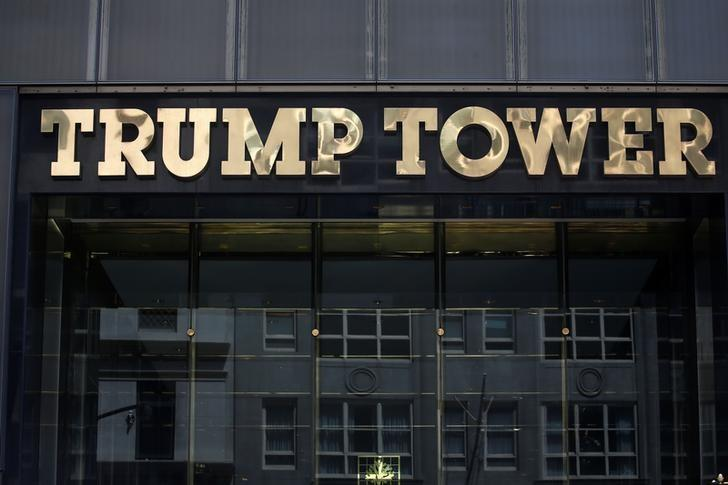 The Trump Tower in New York. REUTERS/Carlo Allegri