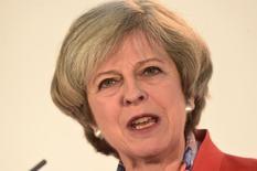 Premiê britânica, Theresa May. REUTERS/Rebecca Naden