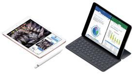 El iPad Pro de 9,7 pulgadas. El gigante tecnológico Apple <AAPL.O> reveló el martes una versión actualizada de su dispositivo iPad, que se comercializará a partir de 329 dólares y estará disponible para ordenar desde el viernes.  REUTERS/Courtesy Apple