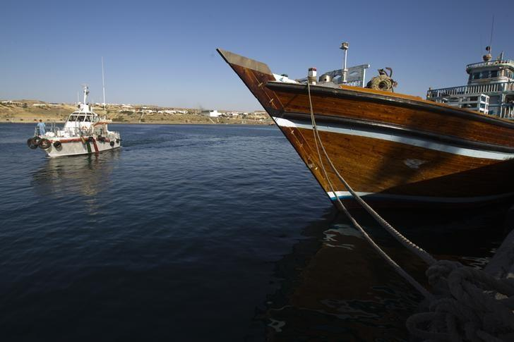 A general view of the port of Kalantari in the city of Chabahar, 300km (186 miles) east of the Strait of Hormuz January 17, 2012. REUTERS/Raheb Homavandi/Files