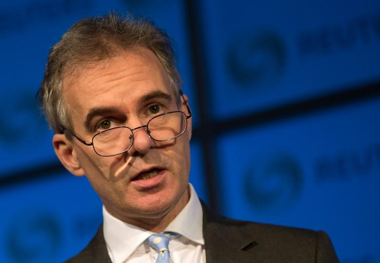 Deputy Governor of the Bank of England Ben Broadbent speaks at a Reuters Newsmaker event at Canary Wharf in London, Britain, November 18, 2015.    REUTERS/Neil Hall/File Photo